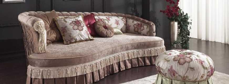 Характерные особенности диванов с оттоманкой, их разновидности