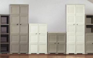 Обзор пластиковых шкафов, советы по выбору