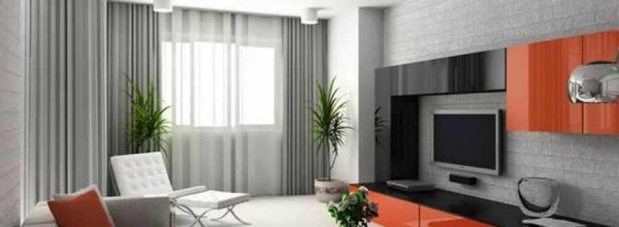 Особенности современного стиля мебели в зал, а также фото популярных моделей
