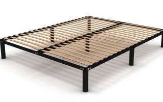 Какие функции выполняют основания для кроватей, обзор вариантов