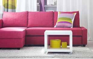Разновидности угловых диванов Икеа, популярные модели