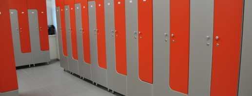 Варианты шкафов в раздевалки фитнес клубов, советы по выбору