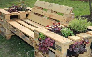 Изготавливаем садовую мебель своими руками фото 672