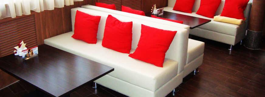 Обзор мягкой мебели в рестораны, кафе и бары, правила выбора