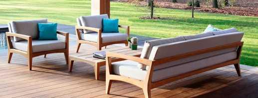 Особенности уличной мебели, нюансы выбора стойких материалов