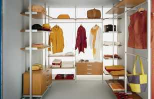 Оформление гардеробной комнаты размером 4 кв м, фото вариантов
