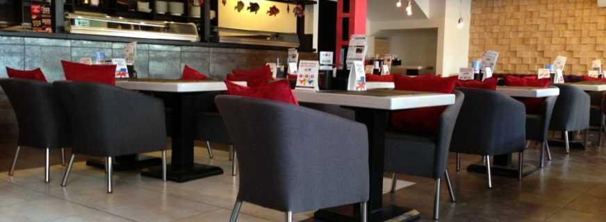 Основы выбора мебели в рестораны кафе бары, обзор моделей