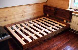 Нюансы которыми обладает дно из реек для кровати, которые нужно учитывать