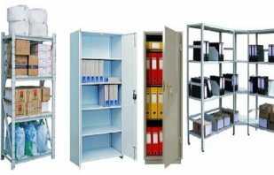Обзор металлических шкафов и стеллажей, важные нюансы подбора