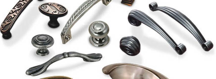 Правила выбора ручек для мебели, советы