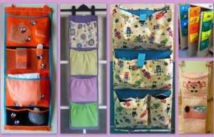 Варианты кармашков для шкафчиков в детском саду, и как выбрать