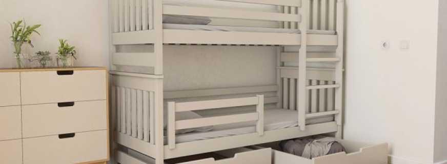 Обзор популярных моделей кроватей-трансформеров, нюансы конструкций