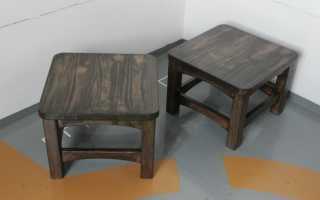 Пошаговое изготовление своими руками табуретов из дерева и фанеры