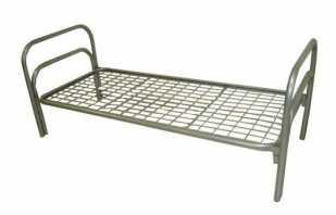 Обзор моделей панцирных кроватей, имеющиеся у них недостатки