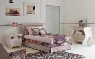 Плюсы и минусы односпальных кроватей из Италии, варианты дизайна