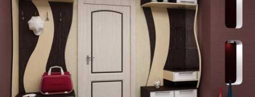 Виды мебели в коридор, советы по выбору