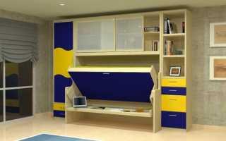 Конструктивные особенности встроенных детских кроватей, способы расположения
