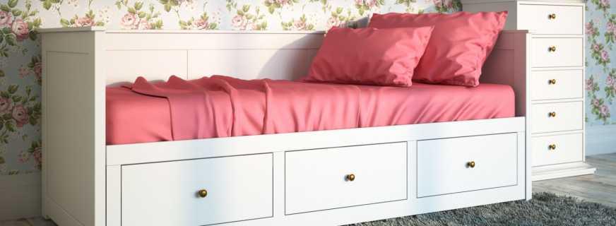 Существующие кровати кушетки, критерии их выбора