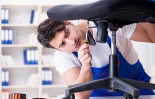Как выполнить своими руками ремонт офисного кресла, рекомендации