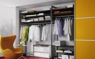 Какие бывают гардеробные шкафы, обзор моделей
