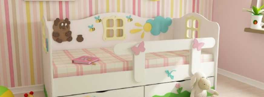 Разнообразие детских кроватей с бортиками, возрастные ограничения