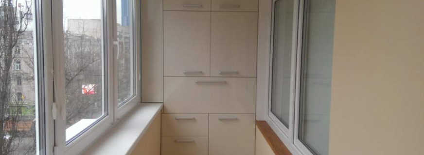 Варианты шкафов для лоджии, и важные критерии выбора
