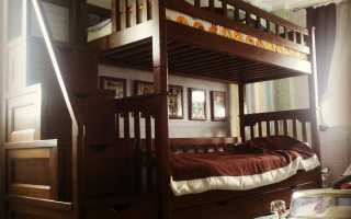 Спальня с кроватью из дубового массива, обзор лучших моделей