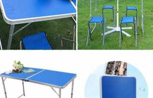 Разновидности мебели для пикников, популярные варианты и комплекты
