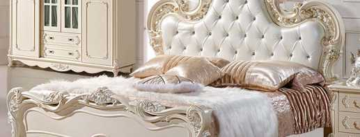 Чем привлекательные французские кровати, новинки моделей с описанием