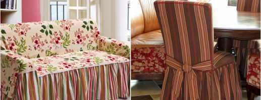 Как выбрать чехол для мебели, обзор моделей
