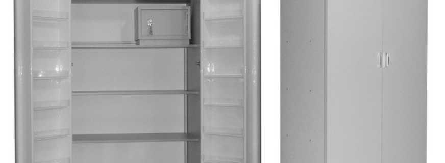Обзор медицинских шкафов, особенности моделей