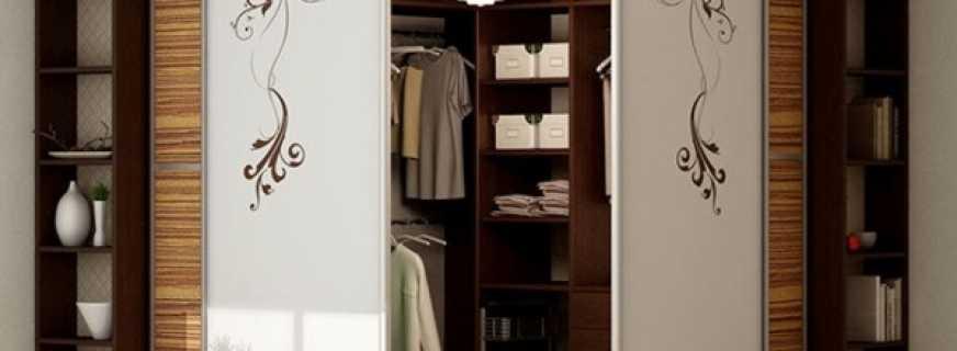 Какие бывают угловые гардеробные, обзор вариантов