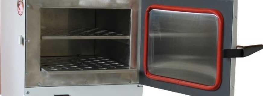 Какие существуют лабораторные сушильные шкафы, и их особенности