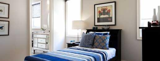 Разновидности односпальных кроватей и конструктивные особенности