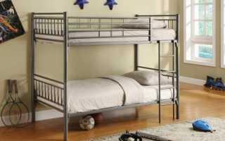 Особенности двухъярусной металлической кровати, ее выбор и размещение