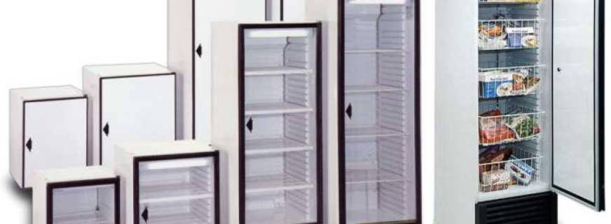 Особенности холодильных шкафов, и существующие модели
