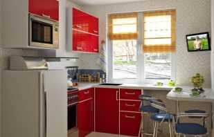 Варианты мебели в маленькую кухню и их особенности