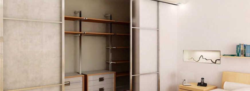 Встроенные шкафы под гардеробную, обзор моделей