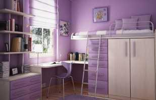 Популярные варианты кроватей чердаков для девочек, удачные идеи