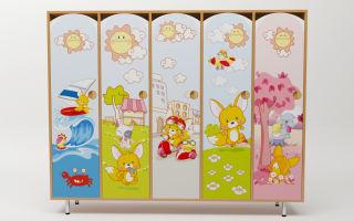 Назначение картинок для шкафчиков, самые красивые варианты