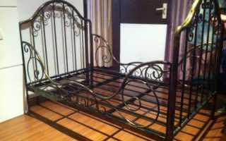 Пошаговые рекомендации по изготовлению своими руками кровати из металла