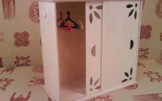 Пошаговая инструкция по созданию мебели для куклы, как правильно делать