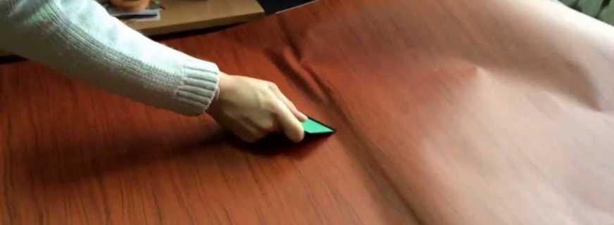Правила оклеивания мебели самоклеющейся плёнкой, рекомендации