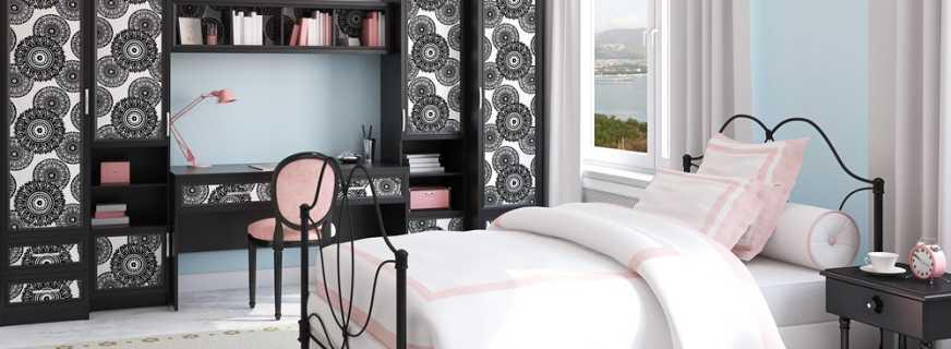 Варианты мебели для комнаты девочки подростка, особенности и правила выбора