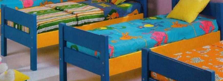 Какие требования предъявляются к кроватям в детском саду, критерии правильного выбора
