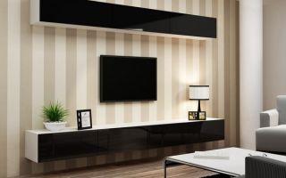 Существующие узкие тумбы для телевизора, выбор модели