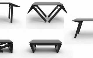 Разновидности столов-консолей трансформеров, критерии выбора