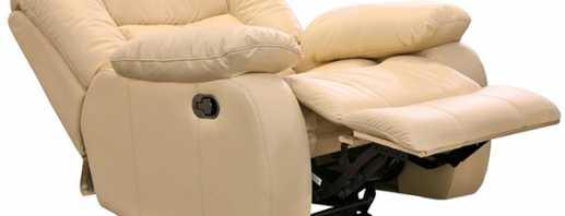 Полезные функции кресла-реклайнера, разновидности моделей