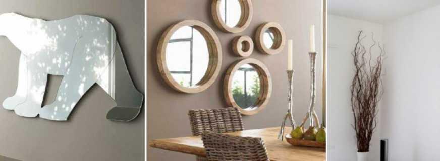 Зеркала на заказ: красота и практичность