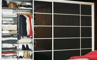 Каким может быть гардеробный шкаф купе, правила выбора